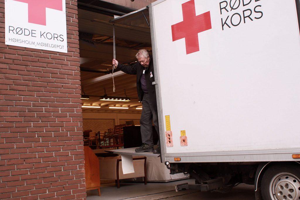Røde Kors Hørsholm Møbellageret