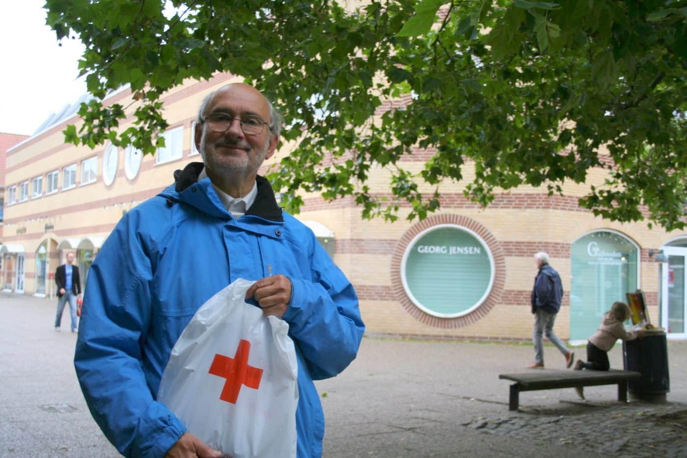 Landsindsamling 2016: Ib Tune Olsen satte rekord med hele 2.702 kroner i bøssen
