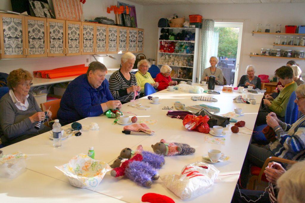 Nørklerne, Røde Kors Hørsholms frivillige gruppe af flittige hænder