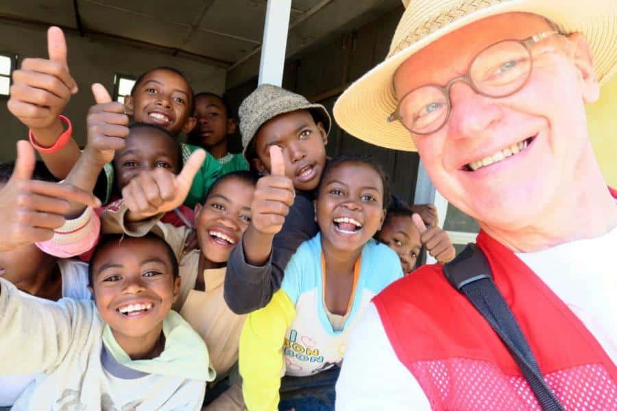 Jerry Ritz fortæller om Røde Kors hjælpearbejdet på Madagaskar