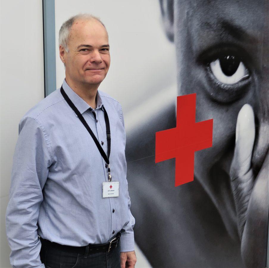 Leif B. Johansen Røde Kors Hørsholm gebrugsaktiviteter